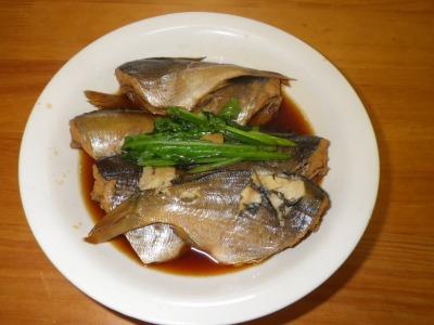 ウミタナゴの煮魚