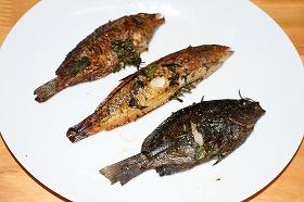 魚の香草焼き